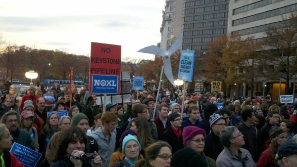Planit4Planet Joins DC Protest Against Keystone XL Pipeline